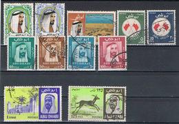 Abu Dhabi Kleine Sammlung  Sonder Und Dauermarken VI - Asia (Other)