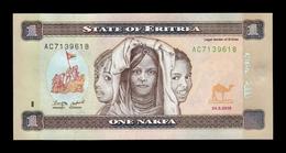 Eritrea 1 Nakfa 2015 Pick 13 SC UNC - Eritrea
