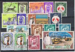 Abu Dhabi Kleine Sammlung  Sonder Und Dauermarken VII - Asia (Other)