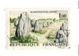 1440 Alignements De Carnac (Morbihan)  Patrimoine - Carnac - Alignement - Mégalithes - Paysage - Menhirs - Morbihan - - Used Stamps