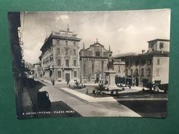 Cartolina Ascoli Piceno - Piazza Roma - 1952 - Ascoli Piceno