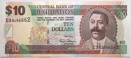 Barbades - 10 Dollars - 2007 - PICK 68a - NEUF - Barbados