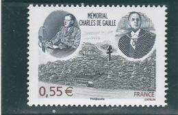 FRANCE 2008 MEMORIAL CHARLES DE GAULLE  YT 4243 NEUF - - Unused Stamps