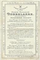 Doodsprentje: DOBBELAERE Marie-Rosalie: °Brugge, 8 Sept 1834, + Brugge, 25 Sept 1901. Wed Van Augustin ANCOT - Religione & Esoterismo