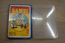 Speelkaarten - Kwartet, Bambi, Nr 71400, Schmid , *** - - Cartes à Jouer Classiques