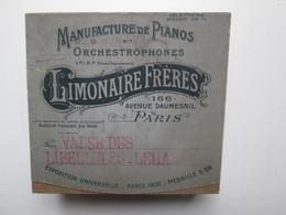 Orchestrophones De Chez ( Limonaire Fréres ) Pour Orgue De Barbarie - Other Products