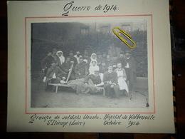 Guerre De 1914,bléssés Hopital De Valbenoite,St Etienne (Loire),octobre 1914 - Saint Etienne