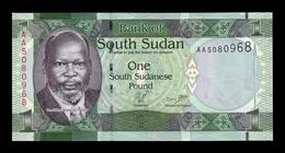 South Sudan Del Sur 1 Pound 2011 Pick 5 SC UNC - Südsudan