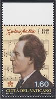 Vaticano 1580 2011 Músico Gustav Mahler MNH - Zonder Classificatie