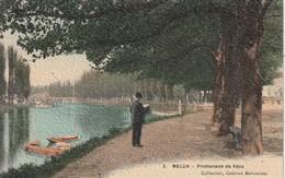 77 Melun. Promenade De Vaux - Melun