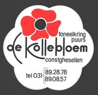 Puurs - Toneelkring De Kollebloem - Zelfklever / Sticker - Puurs