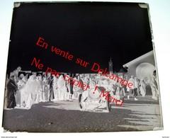 Ben Gardane Ben Guerdane Voiture Militaire / Médenine Tunisie / Plaque De Verre Négatif 6X6cm Env -Bien Lire Descriptif - Diapositivas De Vidrio