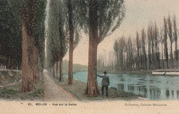 77 Melun. Vue Sur La Seine - Melun