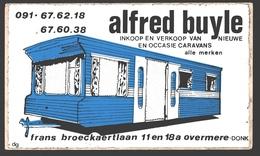 Overmere-Donk - Alfred Buyle - Inkoop En Verkoop Caravans - Zelfklever / Sticker - Berlare