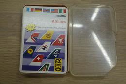Speelkaarten - Kwartet, Airlines, Nr 119, FX Schmid Hemma, *** - - Kartenspiele (traditionell)