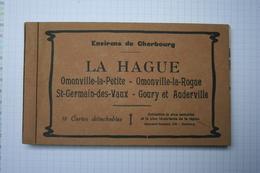 18 CPA CARNET COMPLET OMONVILLE LA ROGUE  / GOURY /  ETC... - Francia