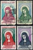 Ecuador A- 228/31 1952 Canonización De Santa María De Jesús Religión Usados - Ohne Zuordnung