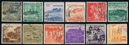 Ecuador A- 285/94 1955 1956 Serie Corriente Usados - Ohne Zuordnung