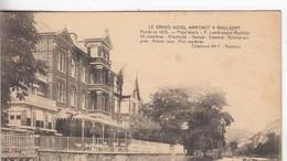 WAULSORT / LE GRAND HOTEL MARTINOT  1925 - Dinant