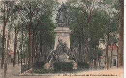 77 Melun. Monument Des Enfants De Seine Et Marne - Melun