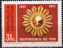 Argentina - 901 - Sesquicentenario De La Independencia Del Peru - Zonder Classificatie