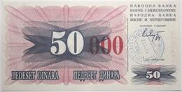 Bosnie-Herzégovine - 50000 Dinara - 1993 - PICK 55h - NEUF - Bosnia Erzegovina