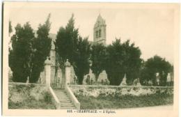 552. Champeaux - L'eglise - France