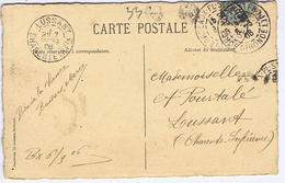 CHARENTE-MARITIME - Cachet Manuel LUSSANT Du 7 MARS  06 + Cachet BORDEAUX-ST-PROJET - Cachets Manuels