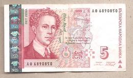 Bulgaria - Banconota Circolata Da 5 Leva P-116a - 1999#18 - Bulgaria