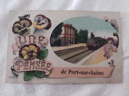 Une Pensée De Port Sur Saône Haute Saône Franche Comté - Other Municipalities