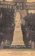 Flacé Les Mâcon            71       Inauguration Du Monument Aux Morts Octobre 1920         (voir Scan) - France