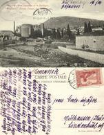 Turkey, PERGAMON Πέργαμον, General View And Basilica (1914) Postcard - Turquie