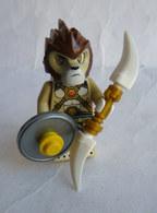 FIGURINE LEGO LEGEND OF CHIMA LION WARRIOR Loc 117 2015 Légo - Figurines