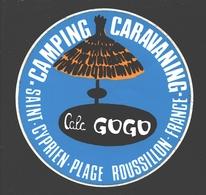 Saint-Cyprien-Plage - Camping Caravaning Cala Gogo - Autocollant - Saint Cyprien