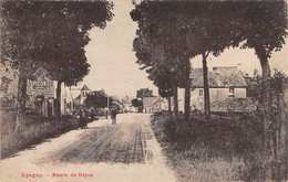 21 - CPA EPAGNY Route De Dijon RARE - Frankreich