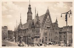 AK - Polen Breslau - Reger Verkehr Vor Dem Rathaus - 1940 - Polen