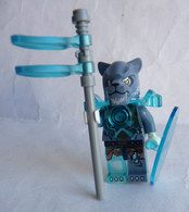FIGURINE LEGO LEGEND OF CHIMA - TIGER WARRIOR SABERTOOTH  2015 Légo - Figurines