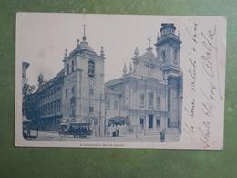 Cpa Bresil A Cathedral Of Rio De Janeiro1904 Bon Etat - Rio De Janeiro