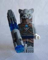 FIGURINE LEGO LEGEND OF CHIMA - TIGER WARRIOR SABERTOOTH (2) 2015 Légo - Figurines