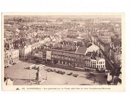 59 - DUNKERQUE (NORD) - N°206 - Vue Générale Sur La Place Jean Bart Et Vers Coudekerque-Branche - Dunkerque