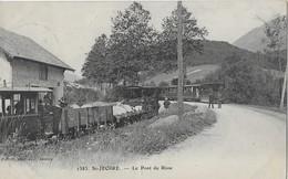 TRAINS ANNEMASSE SIXT AU PONT DU RISSE ET FILLINGES - Saint-Jeoire