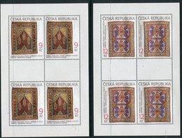 CZECH REPUBLIC 2003 Oriental Carpets Sheetlets MNH / **.  Michel 368-69 Kb - Blocchi & Foglietti