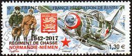 Oblitération Cachet à Date Sur Timbre De France N° 5167 - Régiment De Chasse Normandie-Niemen - France