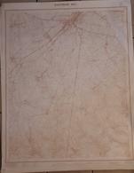 BASTOGNE CARTE AU 1/10000 65/3 - Autres Collections