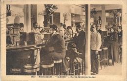 CPA Paris-Montparnasse Bar Restaurant Oasis - Arrondissement: 06