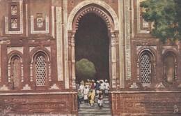DELHI, India, 1900-1910's; The Kutub Minar, Ala-ood-din's Tomb, TUCK # 7235 - India