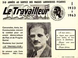 [80] Somme > LE TRAVAILLEUR  DE LA SOMME /   LOT 3002 - Frankreich