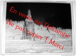 2 Plaques De Verre Eglise Saint Vaast D Agnières / Hescamps Amiens - Négatifs Sur Plaque De Verre 9X12cm Env - Diapositivas De Vidrio