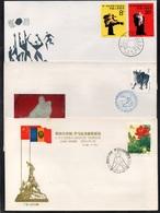 PR CHINA - CHINE / 1985 - 3 ENVELOPPES FDC (6671) - 1980-89