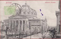 Roemenie Romania Roumanie Rumänien Bucuresti Atheneul Roman Bucharest Bucarest CPA Old Postcard - Romania